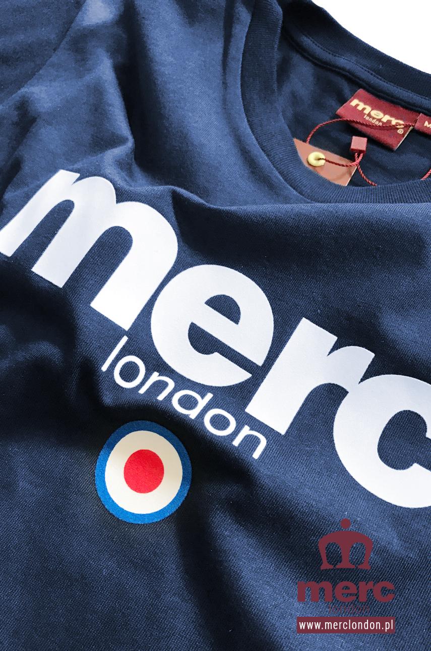 Koszulka MERC LONDON BRIGHTON Granatowa