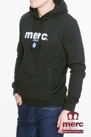 Bluza z kapturem Merc London Pill Czarna