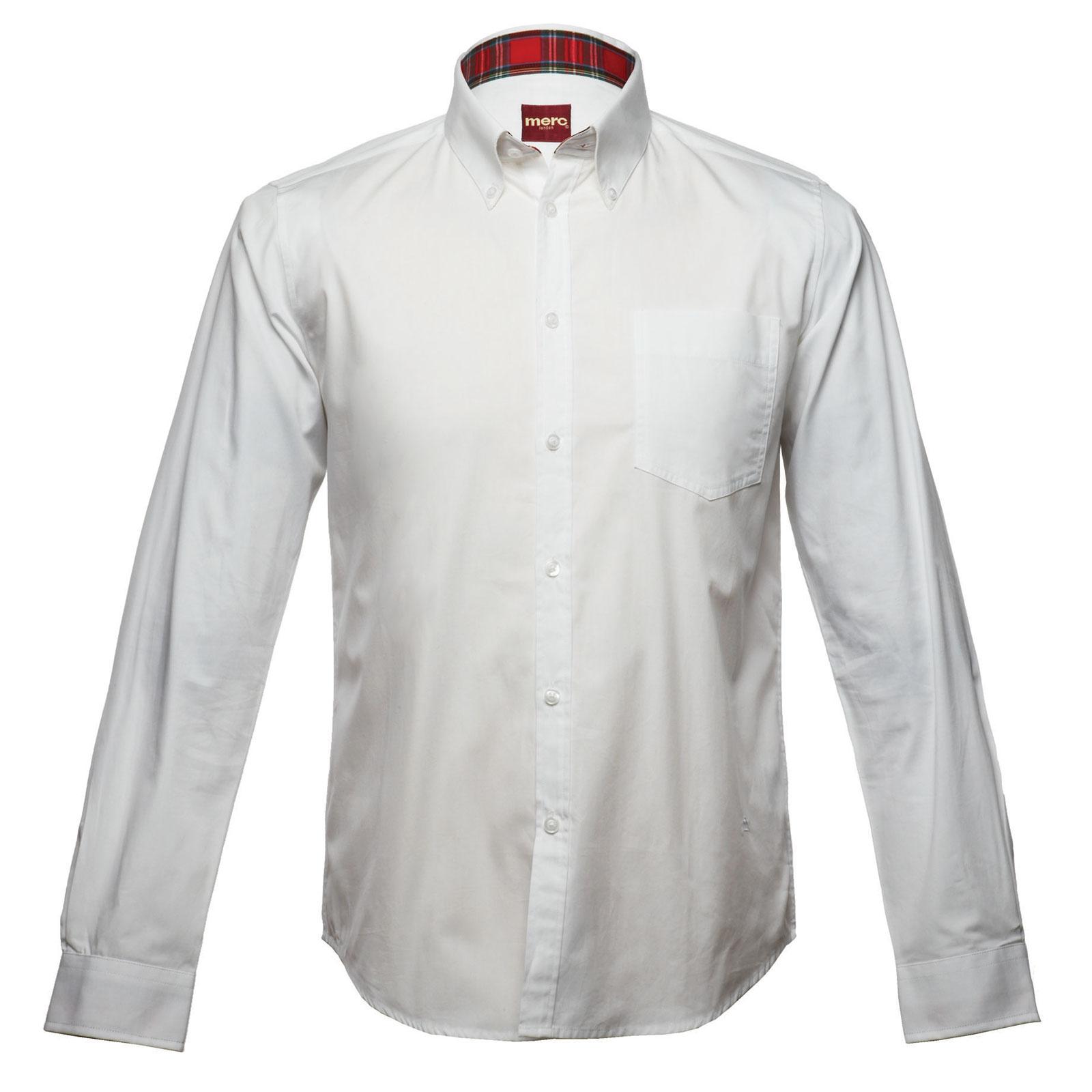Koszula MERC LONDON ALBIN SHIRT  Biała