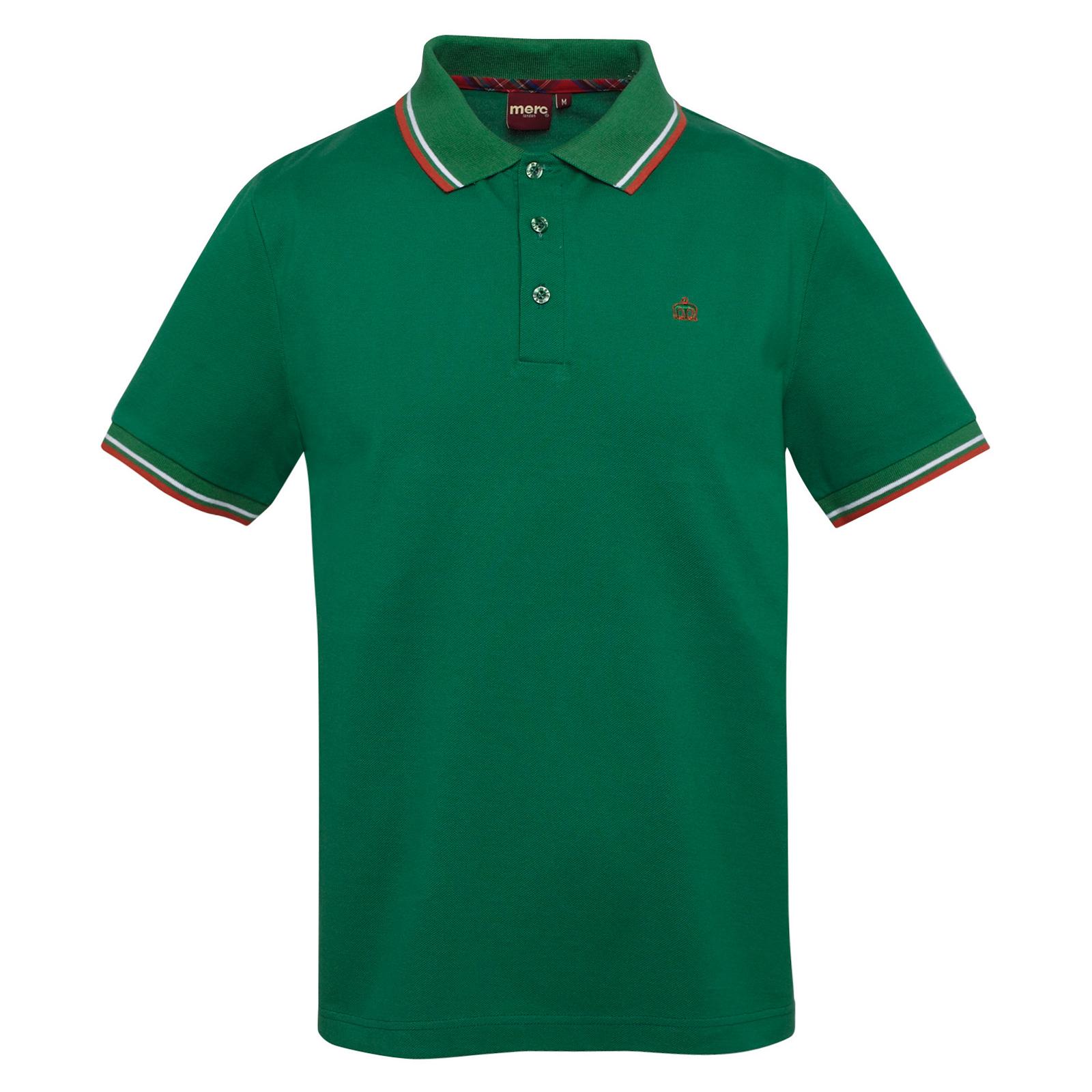 Koszulka MERC LONDON POLO CARD SHIRT Zielona