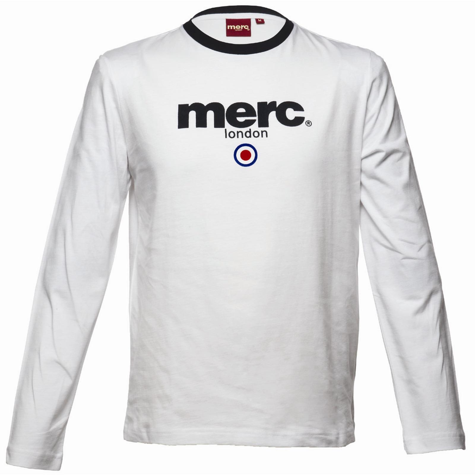 Koszulka MERC LONDON FIGHT T SHIRT Biała