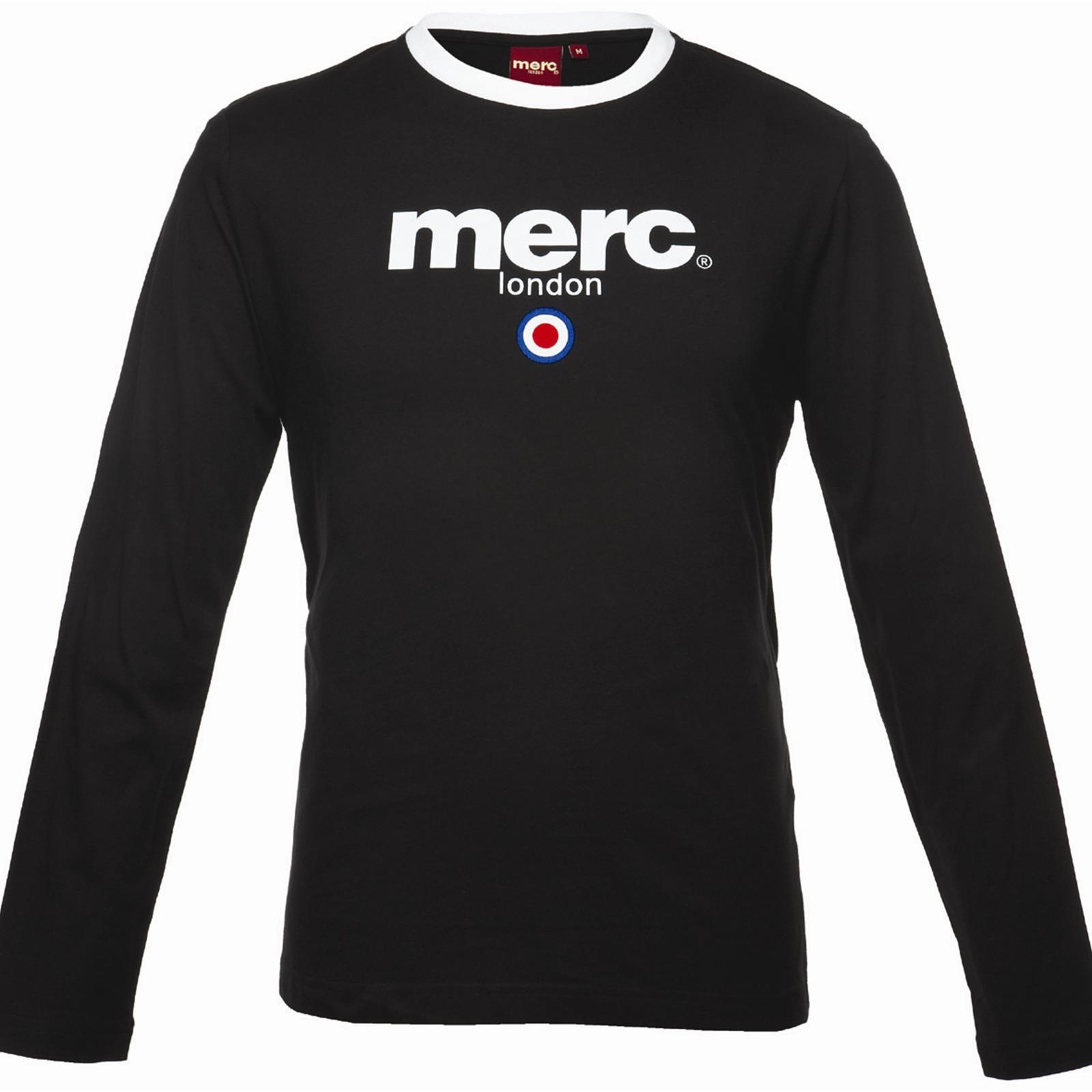 Koszulka MERC LONDON FIGHT T SHIRT czarna
