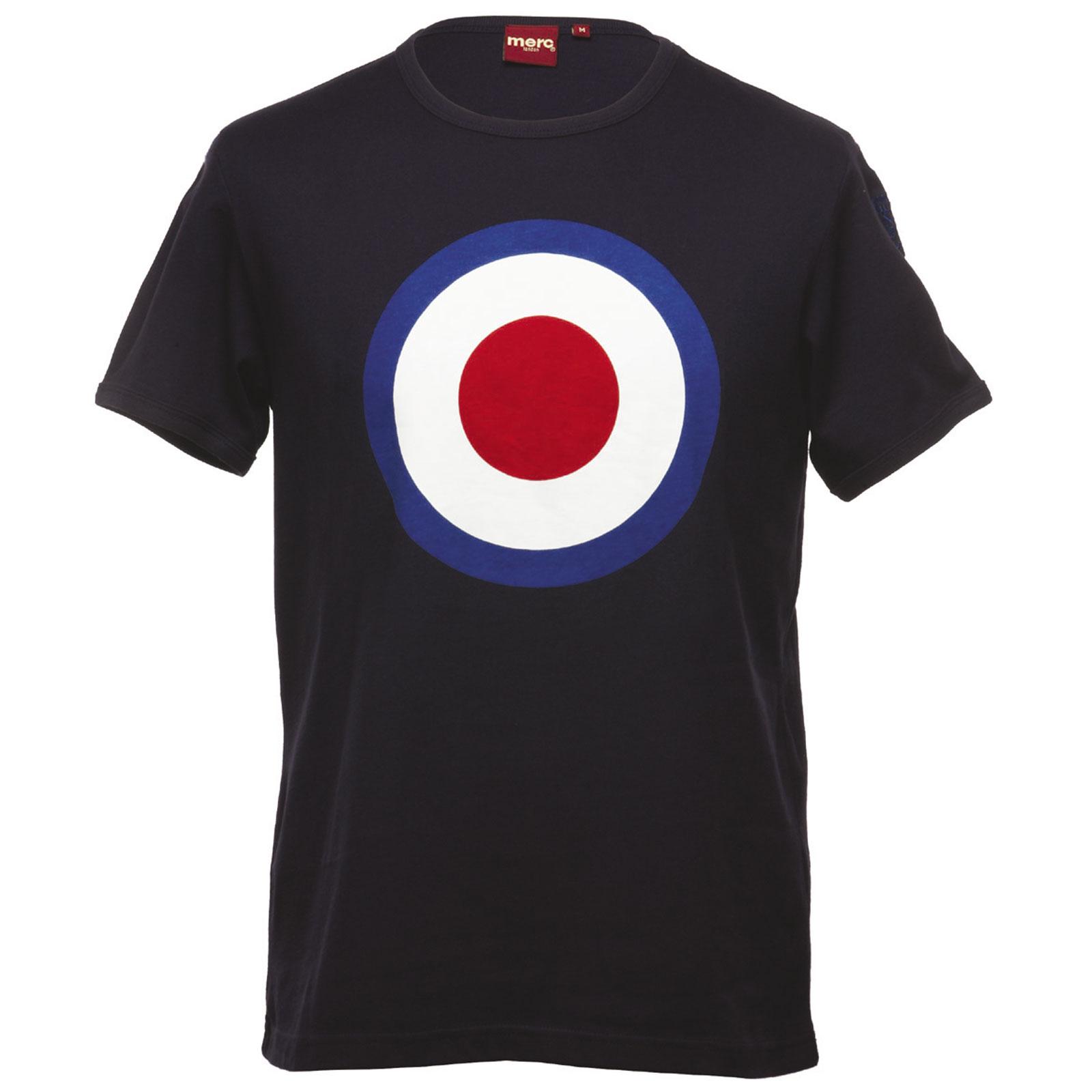 Koszulka MERC LONDON TICKET T SHIRT Granatowa