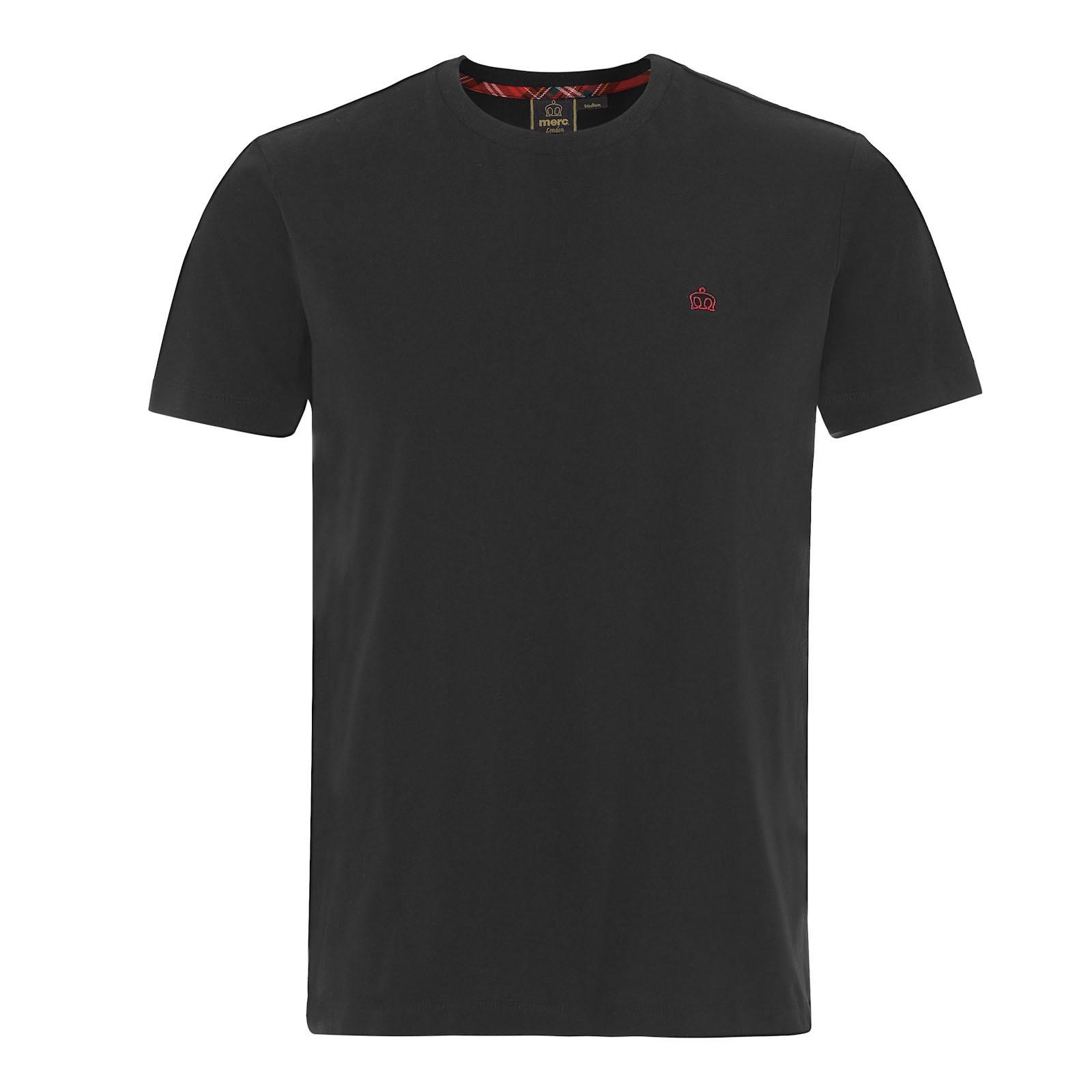 Koszulka MERC LONDON KEYPORT T SHIRT, Czarna