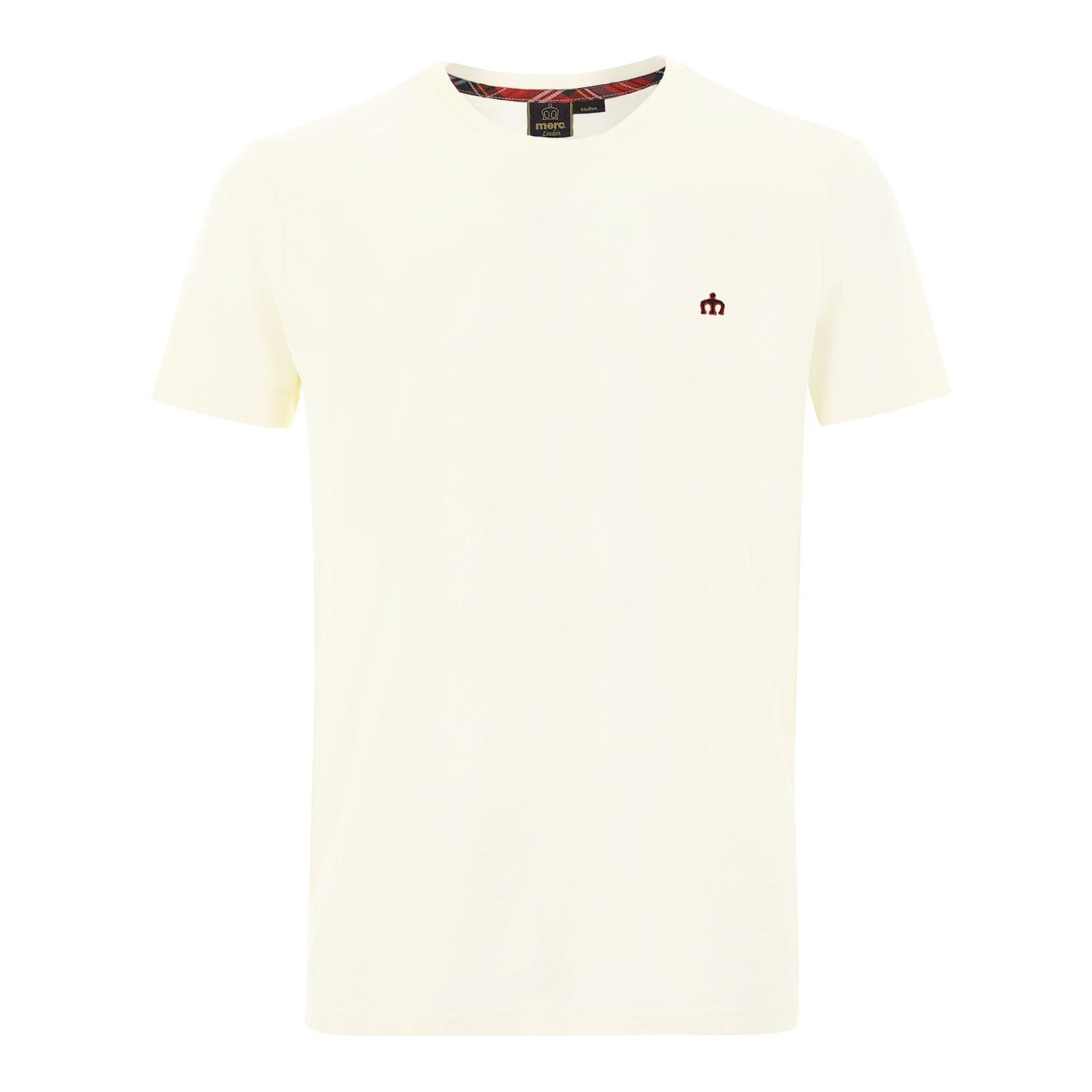 Koszulka MERC LONDON KEYPORT T SHIRT, Biała