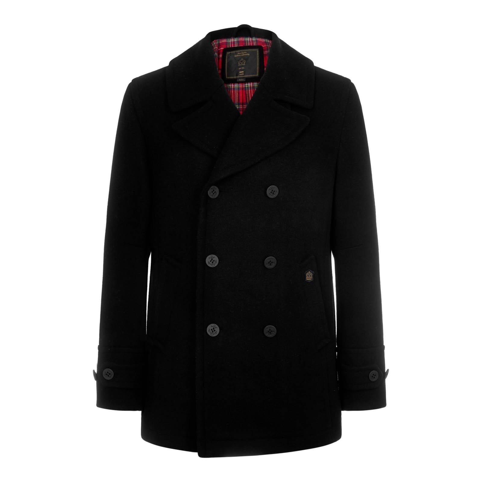 Płaszcz MERC LONDON DOYLE czarny