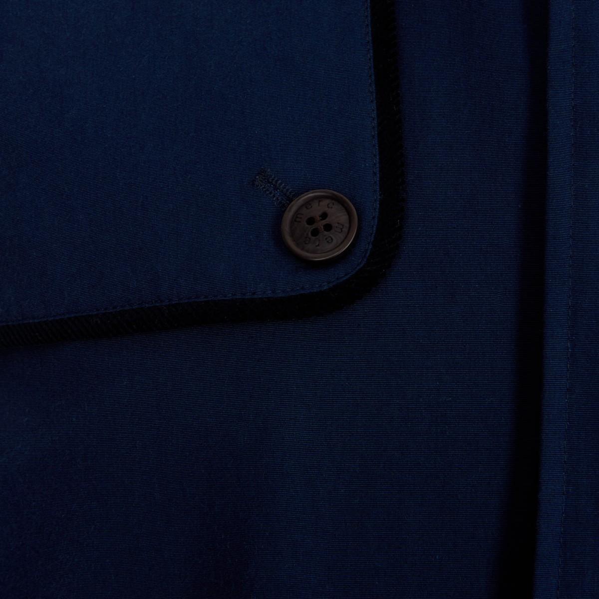 Płaszcz MERC LONDON LIDGARD granatowy