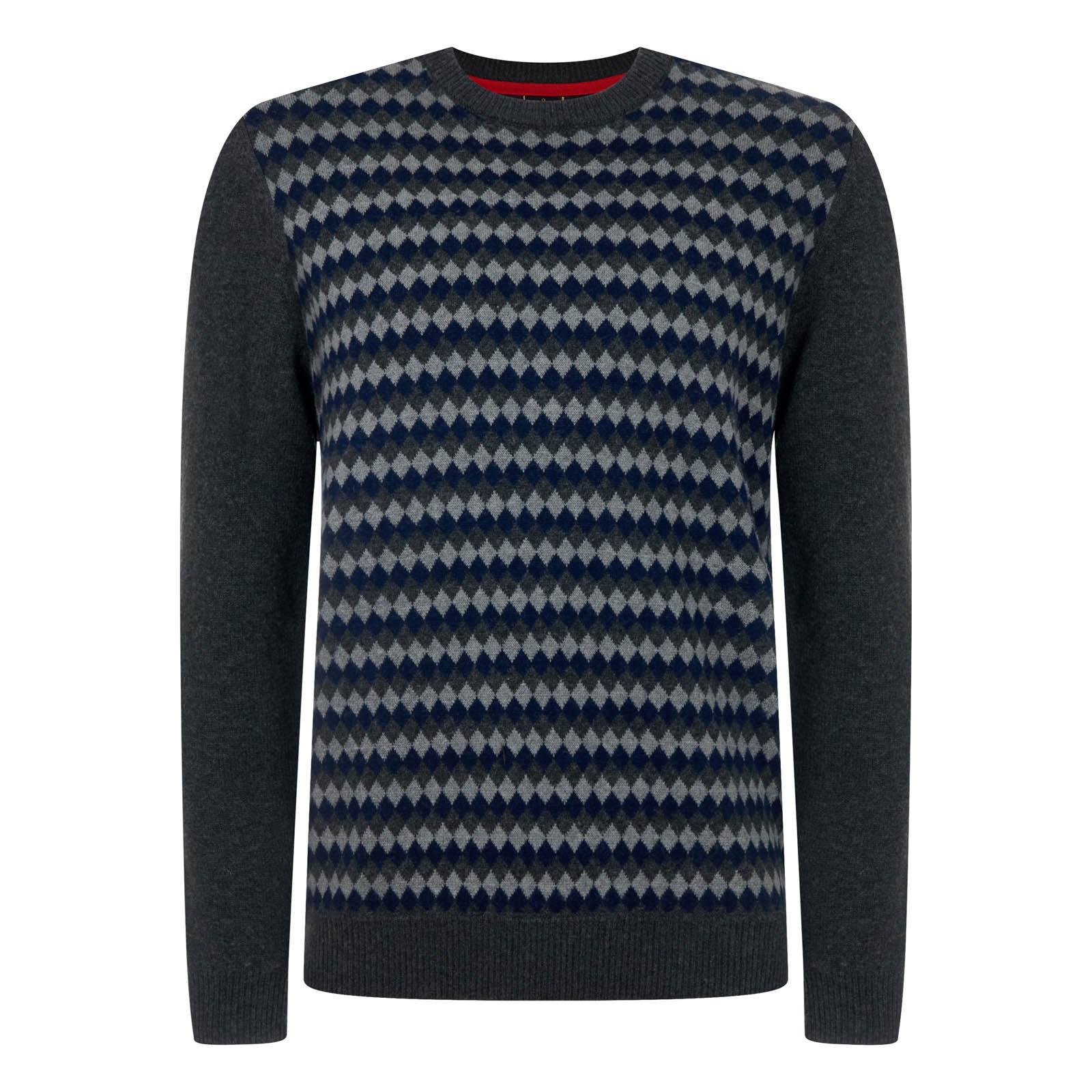 Sweter  MERC LONDON ROXBY szary