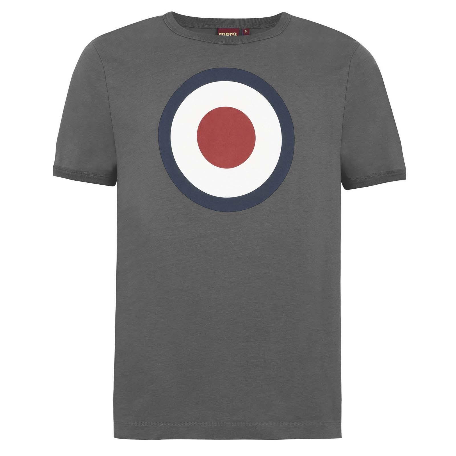 Koszulka MERC LONDON TICKET T SHIRT szara