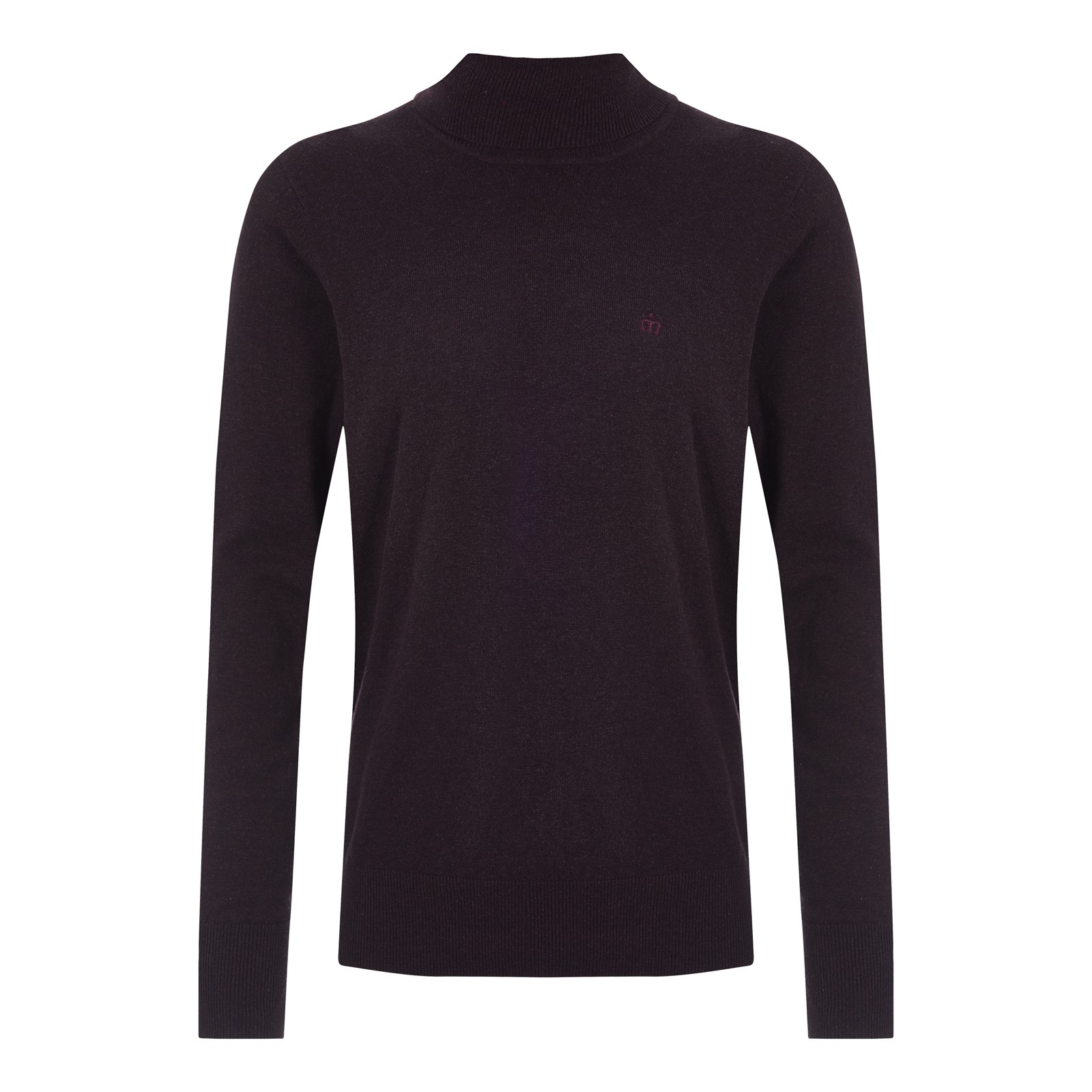 Sweter MERC LONDON HAIG bordowy