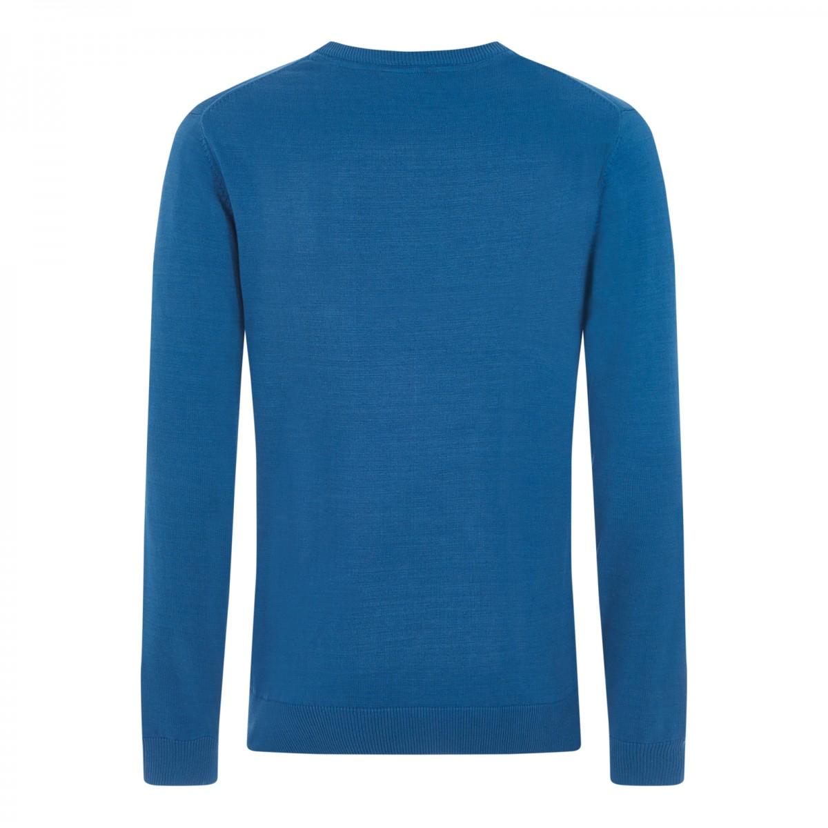 Sweter MERC LONDON VERNON niebieski
