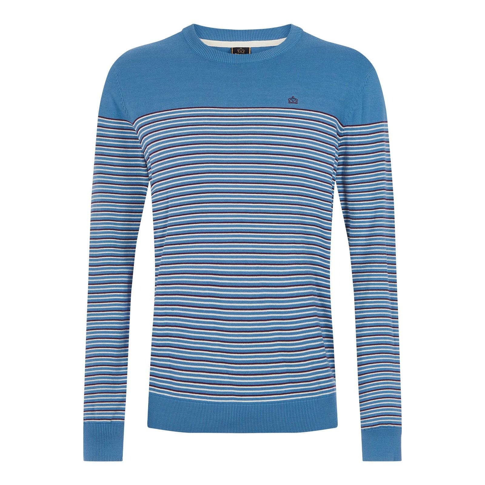 Sweter MERC LONDON BIRCH niebieski