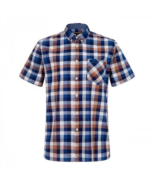 Koszula MERC LONDON  ASHFORD brązowa